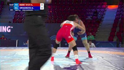 76 kg 1/8 Final - Aiperi Medet Kyzy, Kyrgyzstan vs Mariya Oryashkova, Bulgaria