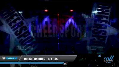 Rockstar Cheer - Beatles [2021 L6 Senior Coed Open - Small Day 2] 2021 CHEERSPORT National Cheerleading Championship
