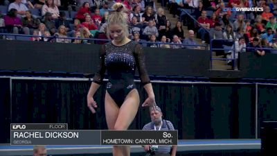 Rachel Dickson - Floor, Georgia - 2018 Elevate the Stage - Augusta (NCAA)
