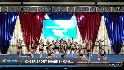 Cheer Sport Sharks - Cambridge - Hammerhead Sharks [2020 L4.2 Senior - Medium Day 1] 2020 The American Majestic DI & DII