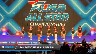 San Diego Heat All Stars - Relentless [2019 - Youth PREP 1.1 Day 1] 2019 USA All Star Championships