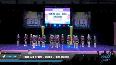 FAME All Stars - Midlo - Lady Crush [2021 L4 Senior - Medium Day 1] 2021 ACDA: Reach The Beach Nationals