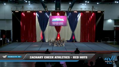 Zachary Cheer Athletics - Red Hots [2021 L1 Tiny - Novice - Restrictions Day 2] 2021 The American Spectacular DI & DII