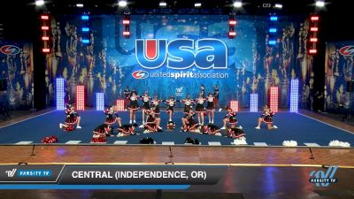 Central (Independence, OR) [2019 Varsity Show Cheer Non-Tumbling Novice Day 2] 2019 USA Spirit Nationals