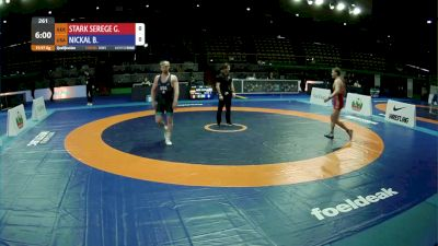 97 kg Prelims - Bo Nickal, USA vs Georg Stark Seregelyi, GER