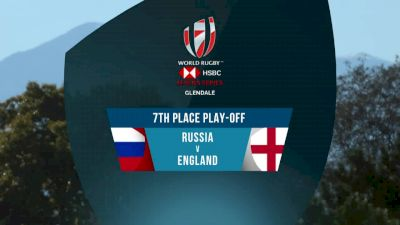 Russia 7s vs England 7s 7th Place Play-Off   2018 HSBC Women's 7s Colorado