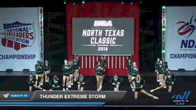 - Thunder Extreme Storm [2019 Senior - Medium 3 Day 1] 2019 NCA North Texas Classic