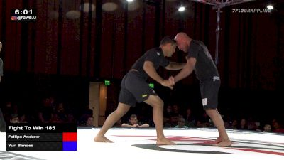 Yuri Simoes vs Fellipe Andrew  Fight to Win 185