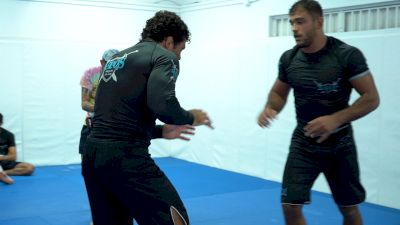 Andre Galvao & Kaynan Duarte Throw Down in the Training Room