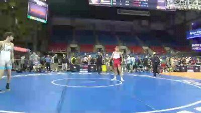 152 lbs Round Of 128 - Kaleb German, Iowa vs Vincent Zerban, Illinois