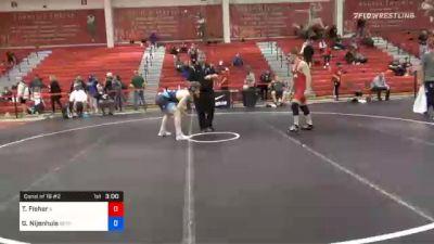 79 kg Consolation - Troy Fisher, Illinois vs Gerrit Nijenhuis, Boilermaker RTC