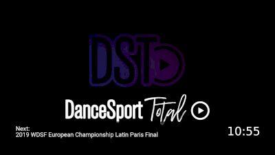 Full Replay - 2019 WDSF European Championship Latin