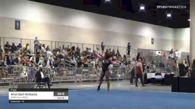 Nirel Bart-Williams - Floor, WOGA Gym #852 - 2021 USA Gymnastics Development Program National Championships