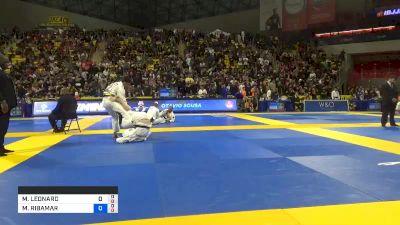 MAX LEONARD LINDBLAD vs MANUEL RIBAMAR V. DE OLIVEIRA FI 2019 World Jiu-Jitsu IBJJF Championship