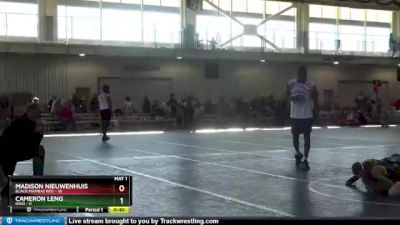 90 lbs Round 2 (4 Team) - Madison Nieuwenhuis, Black Mambas Red vs Cameron Leng, Ohio