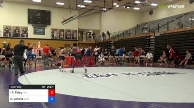 55 kg 3rd Place - Rayvon Foley, Michigan State vs Elijah Varona, Garage Boyz
