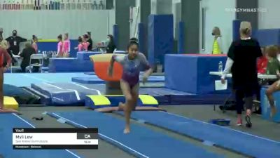 Myli Lew - Vault, San Mateo Gymnastics - 2021 American Classic and Hopes Classic