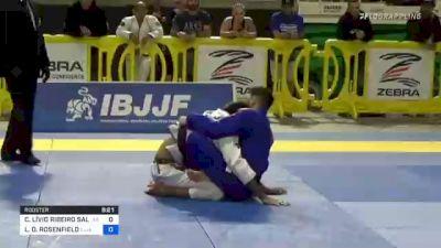 CÍCERO LÍVIO RIBEIRO SALDANH vs LEE D. ROSENFIELD 2021 Pan Jiu-Jitsu IBJJF Championship