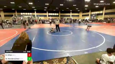 65 lbs Consolation - Antonio Aguilar, Red Wave vs Paxton Bylin, Team Aggression