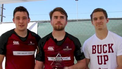 Santa Clara Players Savor Bowl Win