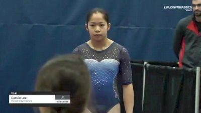 Cassie Lee - Vault, Manjak's Gymnastics - 2019 Elite Canada - WAG
