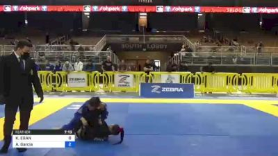 KATHLEEN EGAN vs Ana Garcia 2021 Pan Jiu-Jitsu IBJJF Championship
