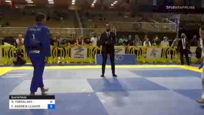 ROBERTO TORRALBAS vs FELLIPE ANDREW LEANDRO SILVA 2020 Pan Jiu-Jitsu IBJJF Championship