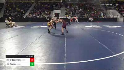 197 lbs Semifinal - Bentley Schwanebeck-Ostermann, Augsburg University vs Gabriel Zierden, Concordia Moorhead