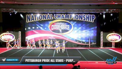 Pittsburgh Pride All Stars - Purple Reign [2021 L6 Senior - XSmall Day 2] 2021 ACP: Midwest World Bid National Championship
