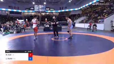 86 kg Prelims - Mark Hall, Titan Mercury Wrestling Club (TMWC) vs Job Ayala, Wisconsin