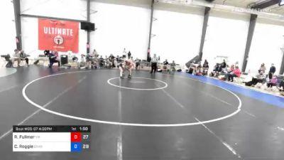 66 kg Final - Reed Fullmer, Malvern Prep vs Cale Roggie, Gitomer