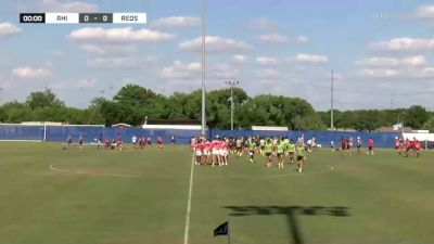 Rhino Rugby vs. Dallas Reds 1 - 2021 Bloodfest - Finals