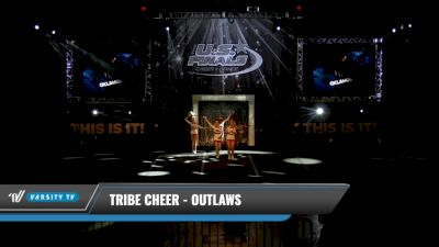Tribe Cheer - Outlaws [2021 L4 Junior Day 1] 2021 The U.S. Finals: Kansas City