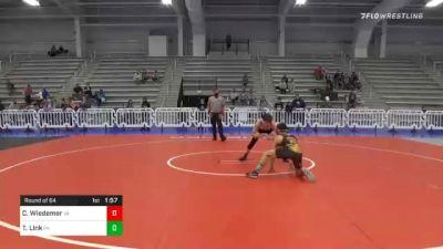 113 lbs Prelims - Calvin Wiedemer, VA vs Tommy Link, PA