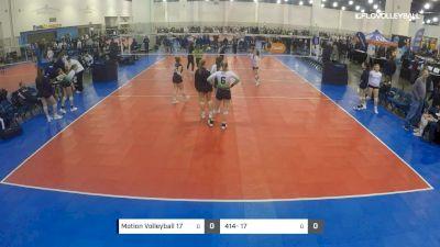 Motion Volleyball 17 vs 414- 17 - 2019 JVA MKE Jamboree