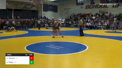 138 lbs Prelims - Justin Rivera, Lake Highland Prep (FL) vs Jason Tang, Archbishop Riordan