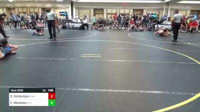 109 lbs Round Of 16 - Damien Richardson, Iron Eagles WC vs Elias Mendiola, NM Gold
