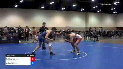 65 kg Consolation - Gabriel Onorato, Pennsylvania RTC vs Legend Lamer, Central Coast RTC