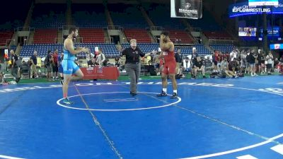 220 lbs Cons 8 #1 - Ramin Abraham, Illinois vs Bradley Smith, Ohio