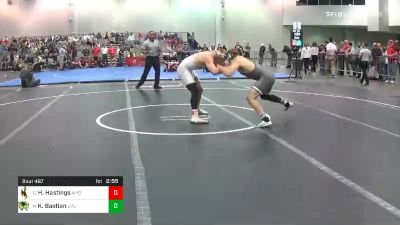 174 lbs Consolation - Hayden Hastings, Wyoming vs Kimball Bastian, Utah Valley