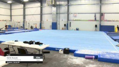 Genki Suzuki - Floor, University of Oklahoma - 2021 April Men's Senior National Team Camp