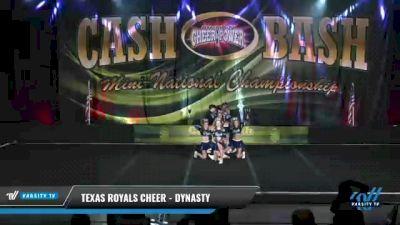 Texas Royals Cheer - Dynasty [2021 L3 Senior Coed - D2 Day 2] 2021 ACP Cash Bash Championship