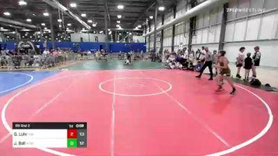 82 lbs Rr Rnd 2 - Gage Lohr, The Funky Singlets vs Jordan Bell, Xtreme Training
