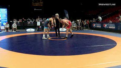 92 kg Rnd Of 16 - Kollin Moore, Titan Mercury Wrestling Club vs Miguel Baray, Dubuque Wrestling Club