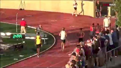 Elite Men's 800m, Heat A