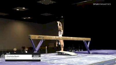 Charlotte Booth - Beam, Brandy Johnson's - 2021 Winter Cup & Elite Team Cup