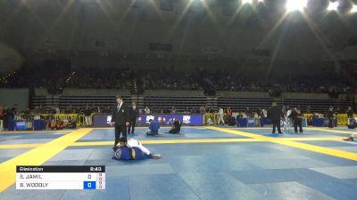 SHANE JAMIL HILL-TAYLOR vs BRANDON WOODLY WALENSKY 2019 Pan Jiu-Jitsu IBJJF Championship