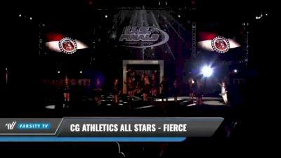 CG Athletics All Stars - Fierce [2021 L1 Junior - D2 Day 1] 2021 The U.S. Finals: Kansas City