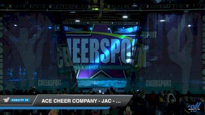 ACE Cheer Company - JAC - Sharp Shooters [2019 Senior Coed Medium 4 Day 2] 2019 CHEERSPORT Nationals
