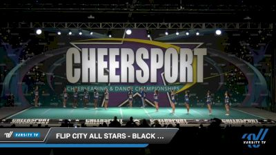 Flip City All Stars - Black Out [2020 Senior XSmall Coed 6 Division B Day 2] 2020 CHEERSPORT National Cheerleading Championship